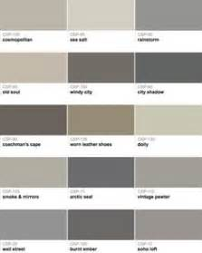 types of gray collection of grays that have a mix of warm and cool