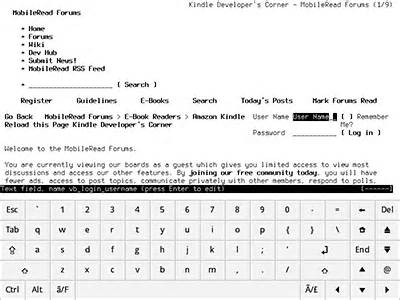 keyboard layout xterm xterm for kindle touch
