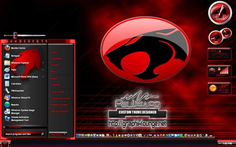 themes for windows 7 deviantart thundercats windows 7 theme by pauliewog260 on deviantart