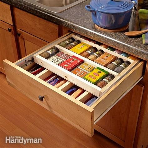 diy space saver spice rack two tier drawer spice rack drawer spice rack space saver and drawers