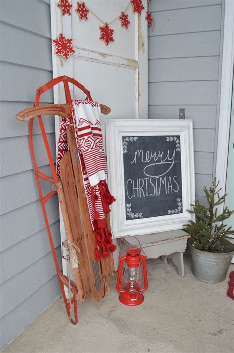 how to decorate sled 3 ways to decorate with a vintage sled farm fresh homestead