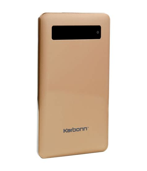Power Bank One 5000 Polymer karbonn polymer 5 powerbank 5000mah power banks at low prices snapdeal india