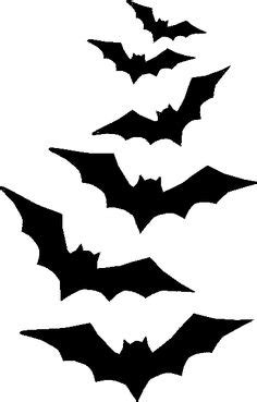 bat templates free bat silhouette diy stencil for outdoor front door or