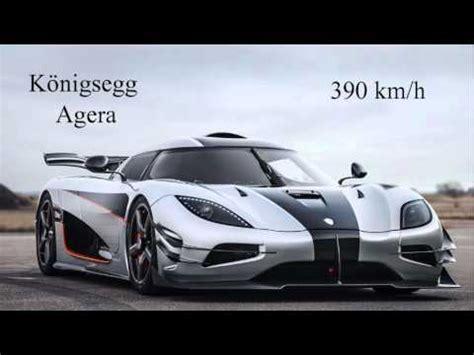 Die Schnellsten Autos Der Welt Youtube by Die 3 Schnellsten Autos Der Welt Youtube