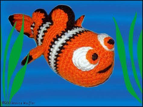 amigurumi nemo pattern clown fish free pattern crochet creations pinterest