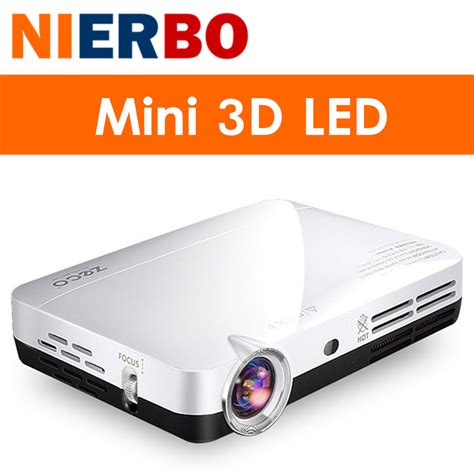 Proyektor Hd 3d מוצר nierbo 3d led projector hd 1080p android
