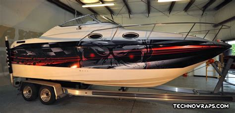 deck boat wraps boat wraps boat graphics orlando florida turn heads