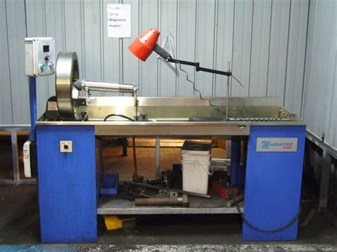 mpi bench magnetic particle inspection