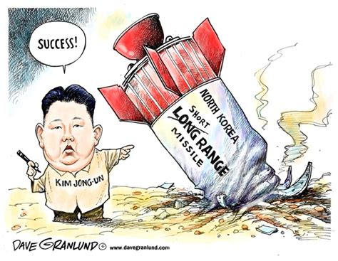 Trump China North Korea by Dave Granlund Editorial Cartoons And Illustrations