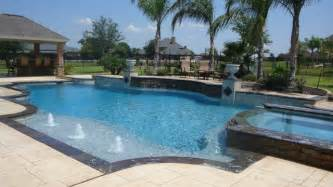 Cypress custom pools grecian style showcase pool w slate stacked