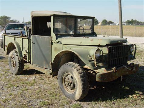 Trucker M alaska forest truck 1960 dodge power wagon