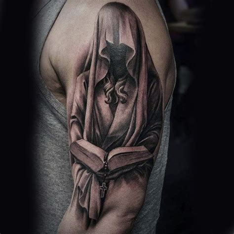 holy tattoos for men 100 religious tattoos for sacred design ideas
