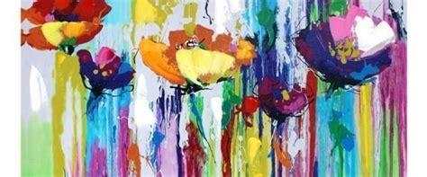 cuadros banak cuadros oleos y acrilicos flores modernas 45 000 en