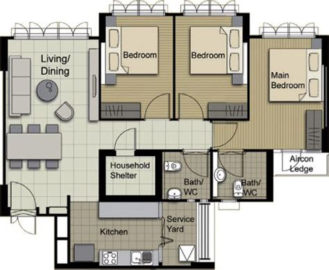 4 room flat floor plan my bto journey part 1 the b l e a h blog
