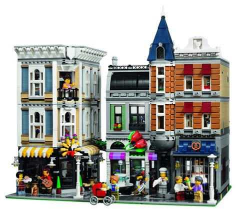 building creator lego reveals largest modular building yet 10255 assembly square to celebrate the line s 10th