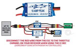 castle creations bec battery eliminator circuit for 2s 6s lipo