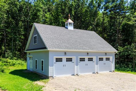 three car garage 34 x 38 newport 3 car garage the barn yard great