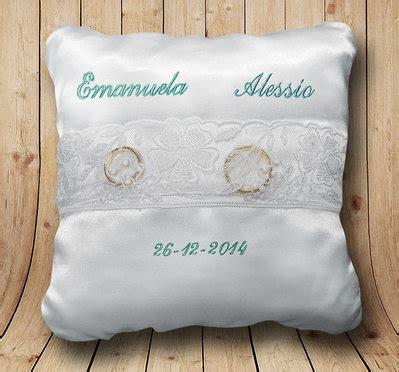 cuscinetto porta fedi matrimonio cuscinetto cuscino porta fedi personalizzato ricamo dei