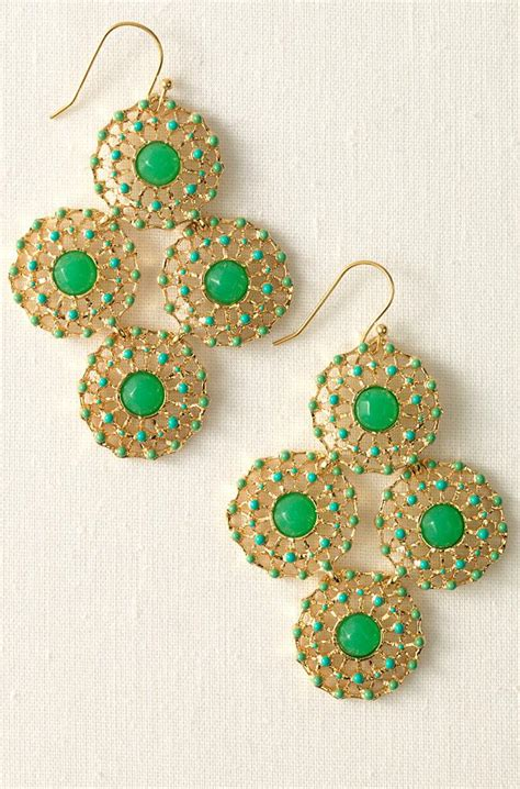 My Stylish Reality More Oc Housewives In Stella Dot Stella And Dot Chandelier Earrings