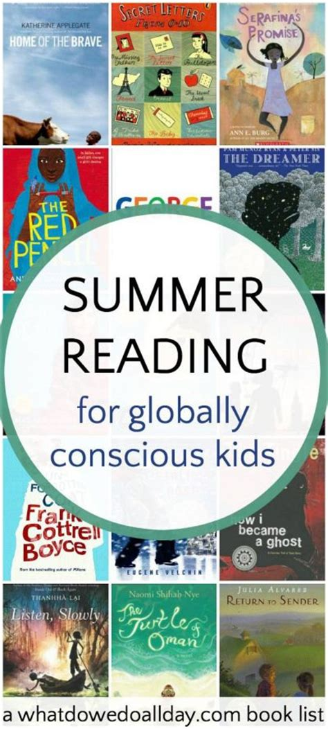 6th grade picture books 6th grade summer reading list for globally conscious