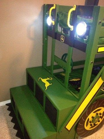 tractor bunk bed john deere tractor bunk bed i like the front ladder steps