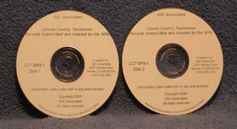 Lincoln County Records Lincoln County Tennessee Records Transcribed And Indexed By The Wpa