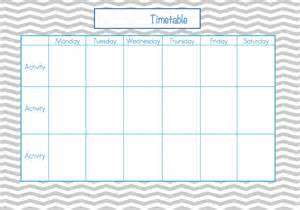 saturday to friday calendar template printable monday through friday template