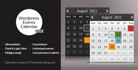 wordpress multiple calendar countdown