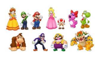 main mario characters mario characters photo 10786399