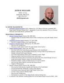 seth d williams ministry resume