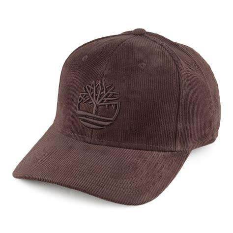 timberland hats corduroy baseball cap brown ebay