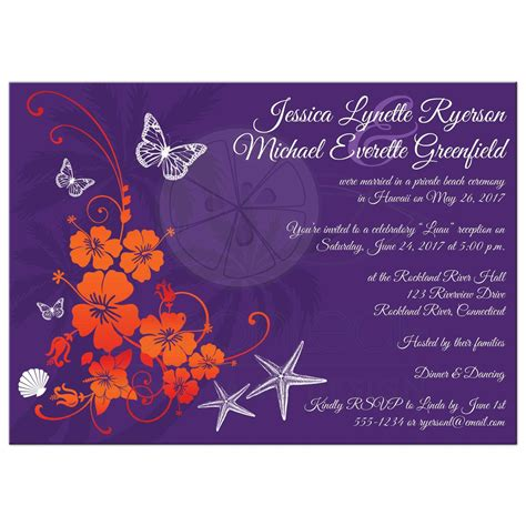 Cheap Wedding Invitations Pink And Orange by Comfortable Purple And Orange Wedding Invitations