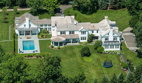 Square Floor Plans For Homes 13 000 square foot colonial mansion in new canaan ct