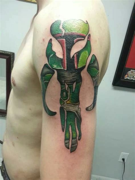 mandalorian tattoo 40 best tattoos images on