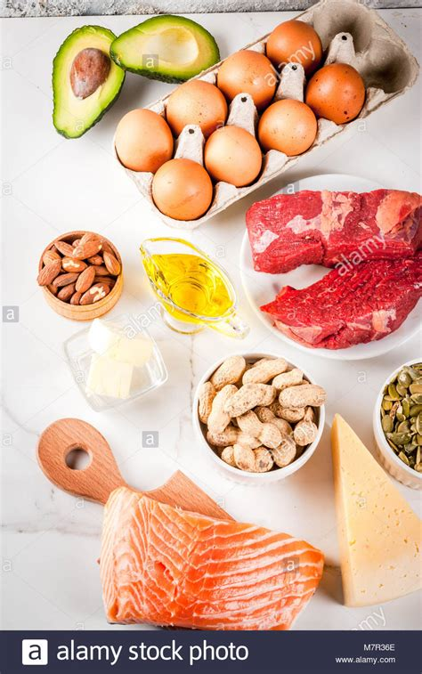 healthy fats with low carbs ketogenic stock photos ketogenic stock images alamy