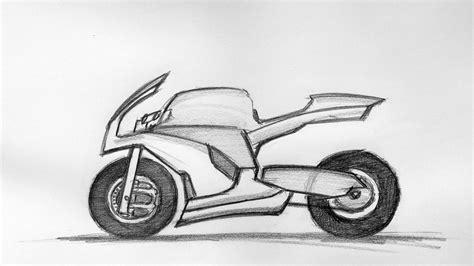 Fahrrad Motorrad Design by Bike Sketch 22 08 2015 Youtube