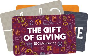 Redeem Your Gift Card - redeem your gift card or gift certificate globalgiving