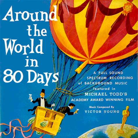 Around The World In 80 Days michael todd s around the world in 80 days p2800 vinyl lp record album transferred to cd