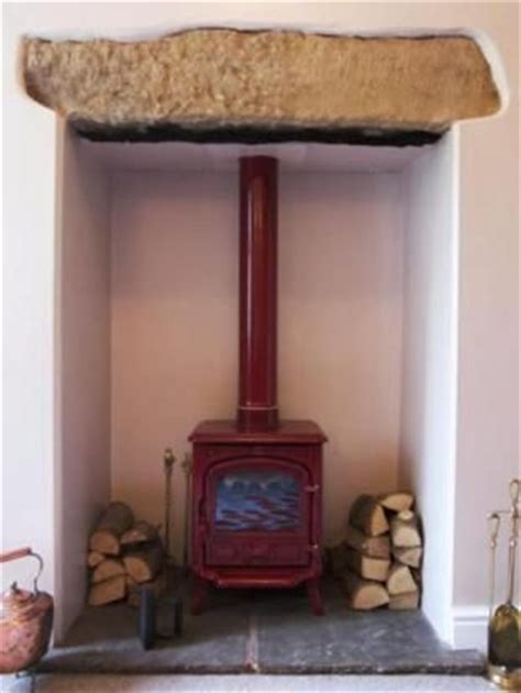 Wooden Lintel Fireplace by Lintel Woodburners And Stones