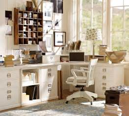 Chic table lamp enhancing gorgeous pottery barn desks mixed with