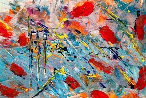gambar  wallpaper abstrak ekspresionisme lukisan