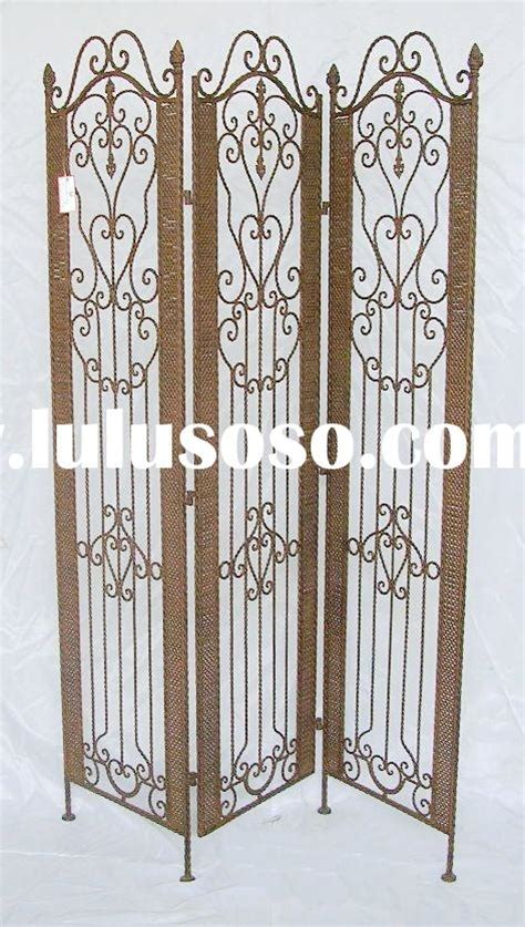 3 Panel Wrought Iron Room Divider Candle 3 Panel Wrought Wrought Iron Room Divider