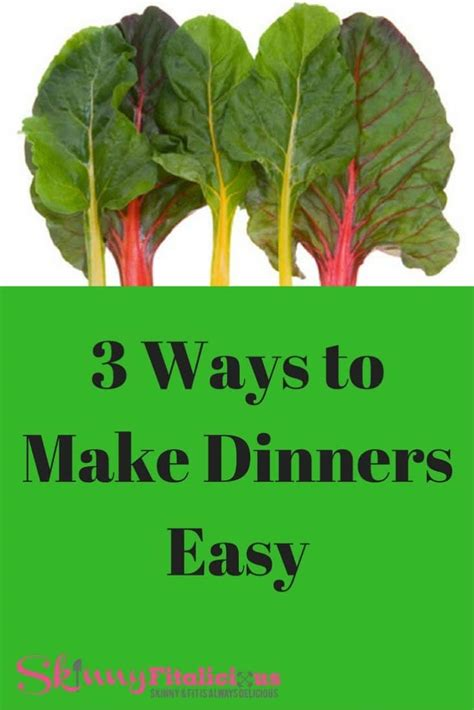 3 Ways To Make A - 3 ways to make dinners easy blue apron fitalicious