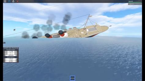 youtube ship sinking roblox ship sinking youtube