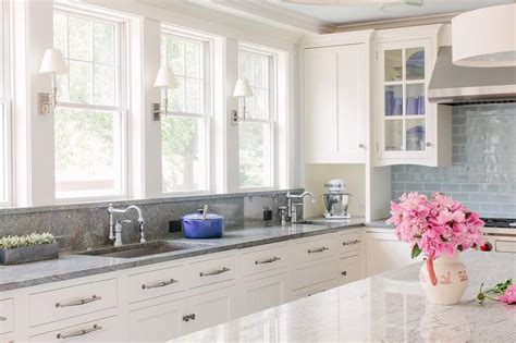 white kitchen cabinets with granite countertops photos blue gray kitchen cabinets contemporary kitchen