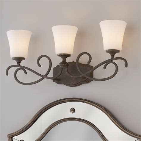 weathered french country bath sconce 2 light shades of weathered french country bath light 3 light shades of