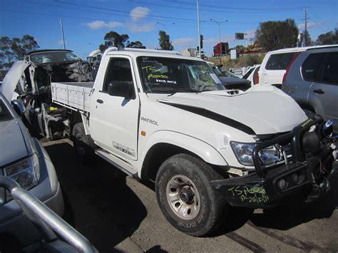 nissan turbo diesel nissan patrol y61 ute 4 2 turbo diesel wrecking