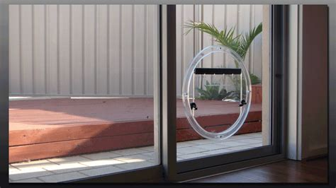 Pet Doors For Patio Sliding Door by Fully Automatic Pet Doors Adapted For Sliding Glass Doors