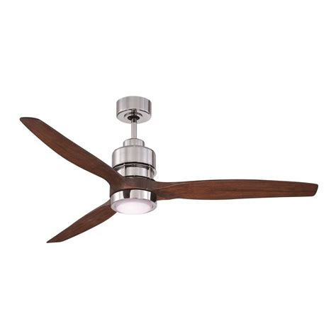 Chrome Ceiling Fan With Light Craftmade Lighting Sonnet Chrome Led Ceiling Fan With Light Son52ch 60wal Destination Lighting