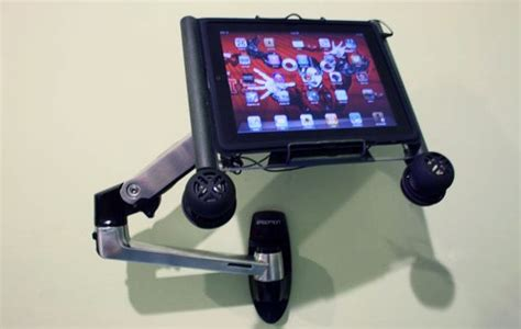 tablet wall mount diy limewedge net awesome diy ipad wall mount